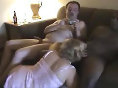 Blowjob, Cuckold, Interracial, Mature