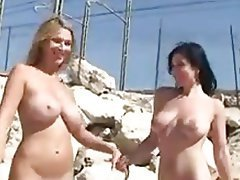 Babe, Beach, Czech, Lesbian