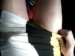 Amateur, Stockings, Upskirt