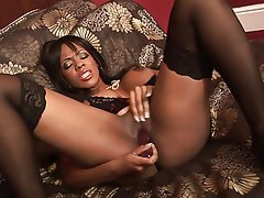 Interracial, MILF, Blowjob, Brunette