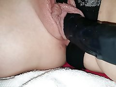 Close Up, British, Dildo, Wife
