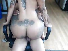 Amateur, Big Boobs, Big Butts, Tattoo