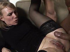Anal, Blonde, Close Up, Cumshot