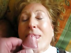 Amateur, Facial, Granny