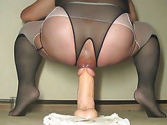 Anal, Anal, Lingerie, Stockings