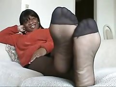 Amateur, Foot Fetish, Pantyhose, Stockings